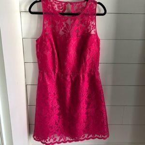 Laundry Scallop Lace Dress